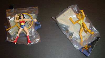 Jack in the Box DC Justice League Animated JLU WONDER WOMAN Vs CHEETAH 2001 Timm