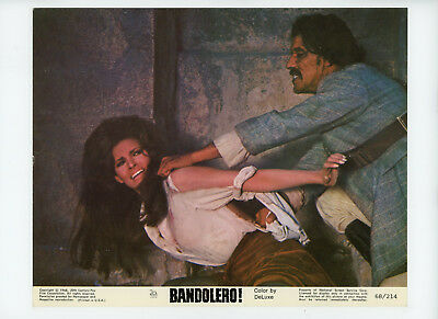 BANDOLERO! Original Color Movie Still 8x10 Raquel Welch 1968 9264