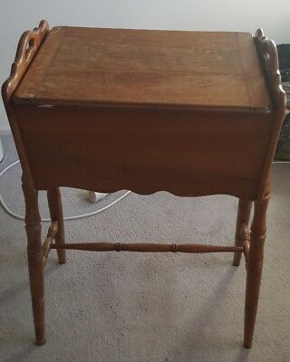Vintage desk small sewing table