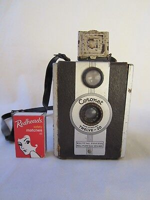 Vintage Coronet Box Film Camera Twelve - 20 Working