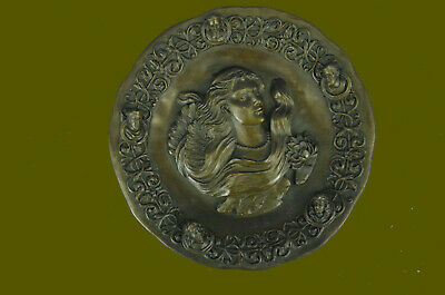 Hand Made Style Bronze Art Decor Relief Made in Spain Award Trophy Collector