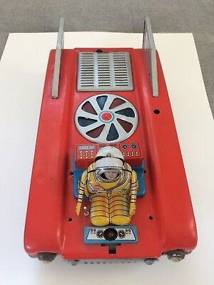 "Cragstan space Mobile ""Lunar patrol"" Tin Toy Made In Japan"