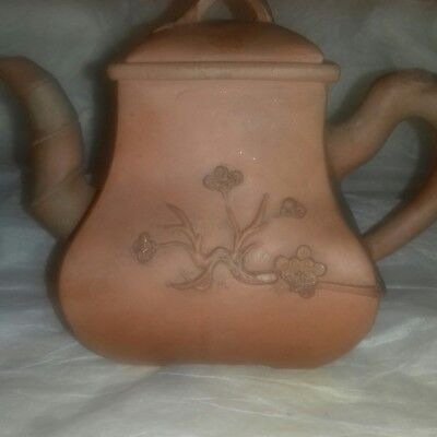 Antique Chinese Yixing Red Clay Teapot