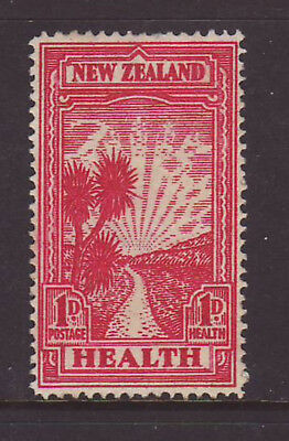 New Zealand 1930 1d + 1d Scarlet Health Pathway Stamp MUH