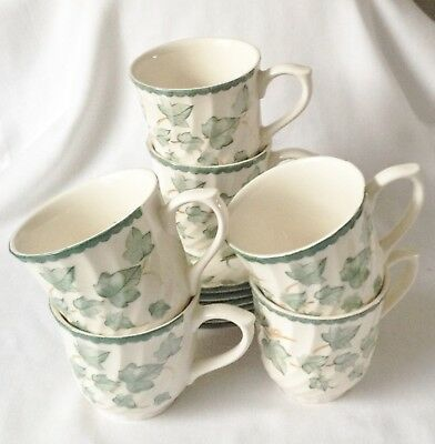 BHS Country Vine Cups and Saucers x 6