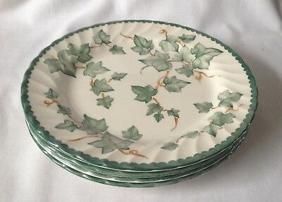 BHS Country Vine Salad Plates x 4 - 8 Inch