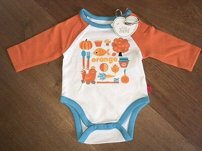 *NEW* Little Bird by Jools Oliver - 'Orange' Bodysuit *Newborn*