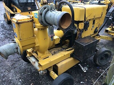 Selwood S150 Diesel Water Punp On Wheels 6 Inch.