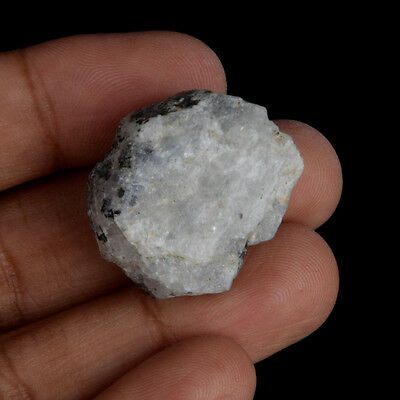 Natural 70.50 Carat. Egl Certified White Rainbow Rough Loose Gemstone V-5753