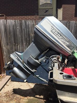 Evinrude 40Hp Long Shaft(20Inch) Outboard Motor 2-Stroke Forward Controls Gc