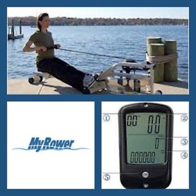 MY-Rower VR-1  Water Resistance Water Rower - Made in USA - 2018 Model