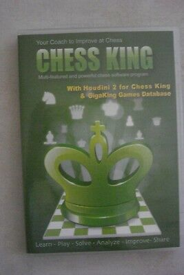 - CHESS KING [CHESS SOFTWARE PROGRAM] With HOUDINI  [BRAND NEW]