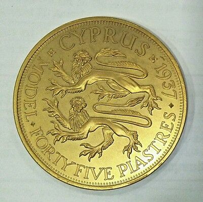 Personal collection release Cyprus Edward viii Proof Pattern Coin
