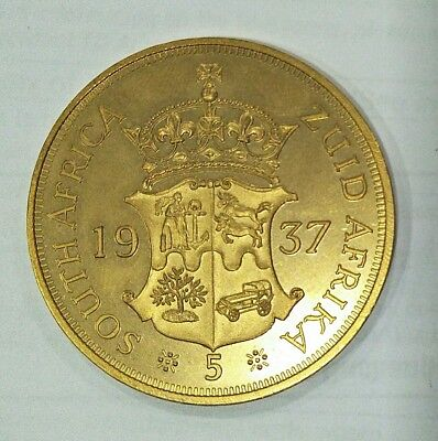 Personal collection release South Africa Edward viii Proof Pattern Coin