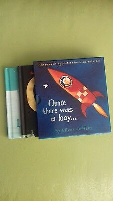 Once There Was A Boy by Oliver Jeffers. Three book boxset.
