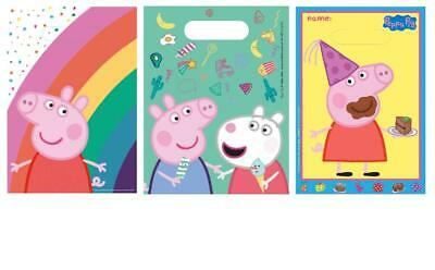 Peppa Pig Happy Birthday Children Party Bags Gift Bag Children Party Decorations