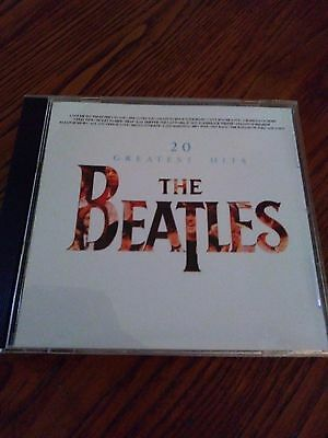 The Beatles 20 Greatest HITS in STEREO UK VERSION CD