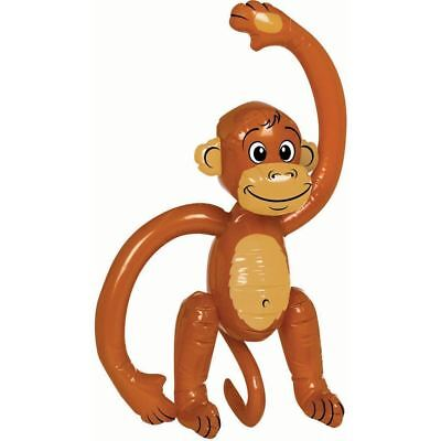 5 x INFLATABLE BLOW UP MONKEY CHILDREN KIDS PARTY Hen Stag Do Fancy Dress Party