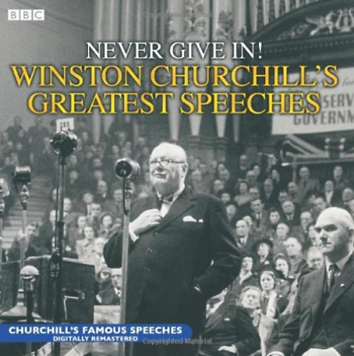CHURCHILL, WINSTON S-Never Give In! C`s Greatest Speeches (2CD)  CD NEW