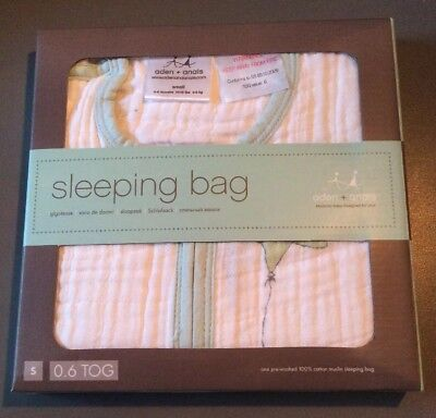 aden + anais Up, Up and Away Single Layer Sleeping Bag Small 0-6 months