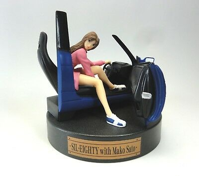 INITUAL D VIGNETTE COLLECTION SIL-EIGHTY with Mako Figure SEGA JAPAN