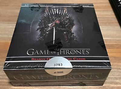 Game of Thrones Season One 1 Factory Sealed BOX 2 Autographs Rittenhouse