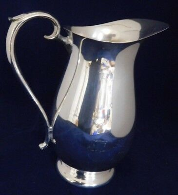 F.B. Rogers Vintage Silver Plated Water Pitcher 5707- 9 3/4 inches Tall