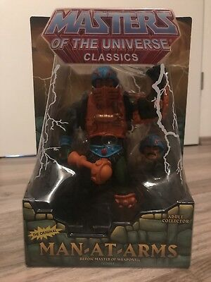 MAN-AT-ARMS Masters Of The Universe Classics OVP SKELETOR, HE-MAN, SHE-RA