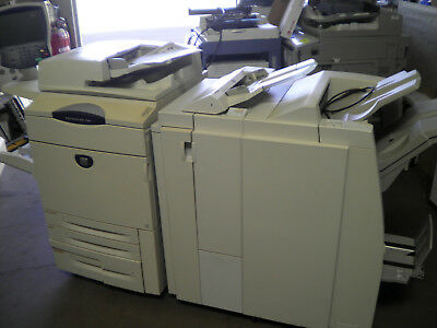 Xerox Docucolor 260 with firey and light product finisher with z fold
