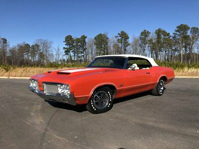1970 Oldsmobile 442  1970 Oldsmobile 442 Convertible Ram Air W-25 455 #'s match Rally Red Restored