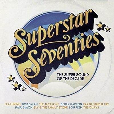 SUPERSTAR SEVENTIES - V/A DECADE OF 70s HITS 3CDs (NEW/SEALED) Bob Dylan
