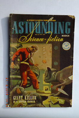 Astounding Science Fiction March 1946