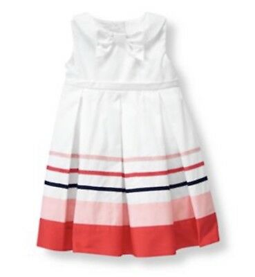 Janie & Jack Baby Girl 3-6 Months White Dress: from the Sweet Sailing collection
