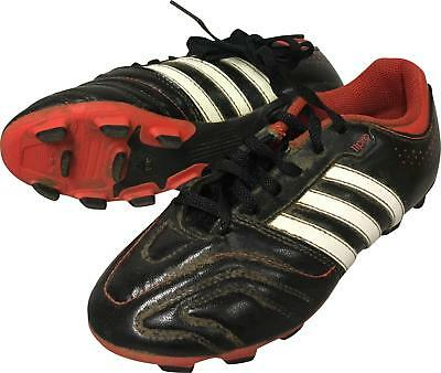 PRE-OWNED Boys Adidas 11Questra Black Mix Football Boots Size Jnr 1 MR307