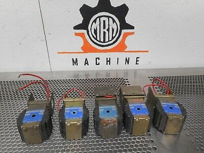 Sporlan ME19S270 MKC-2 Solenoid Valve Coils 208-240V 50/60Cy 15W Used (Lot of 5)