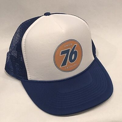 Union 76 Gas Trucker Hat Vintage Style Gasoline Oil Advertise Mesh Snapback Cap