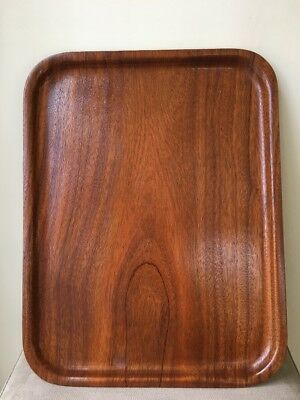 SILVA Sweden Teak Tray Mid Century Modern Serving Grazing Table Board Vintage