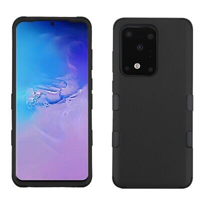 Samsung GALAXY S8 Active Hybrid Shockproof Protective Rugged Case Cover BLACK