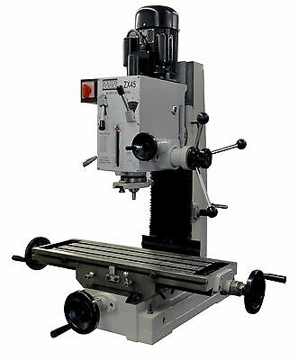 """Bench Milling/Drilling Machine 9 1/2"""" X 32"""" Milling Machine Drilling Benchtop"""