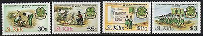 ST.KITTS SG157/60 1984 20th ANNIV OF THE 4-H ORGANISATION MNH