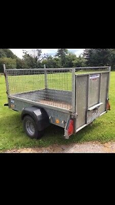 ifor williams cage trailer