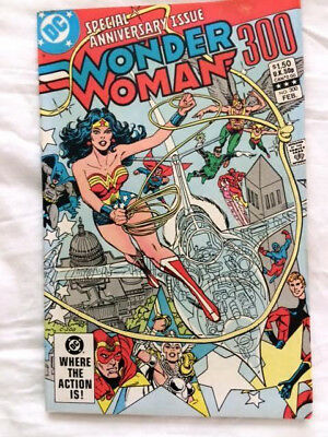 Woner Woman # 300 DC Comics Anniversary Special Collector's Item from 1983