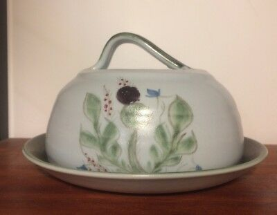 Buchan Stoneware Portobello Butter Cheese Dish Bell Vintage Immaculate