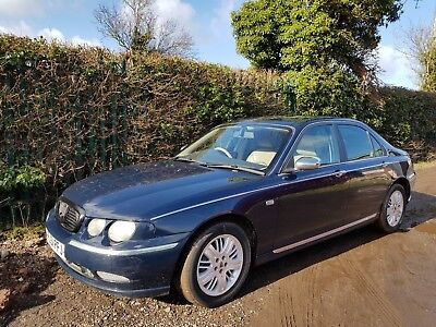 Rover 75 Connoisseur Cdti Se Deisel 5 Speed Leather Service History