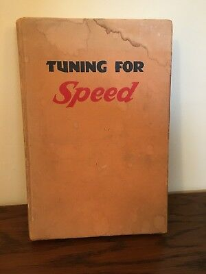 Tuning for Speed by P. E. Irving 2nd Impression 1952 Motorcycle Mechanics Book