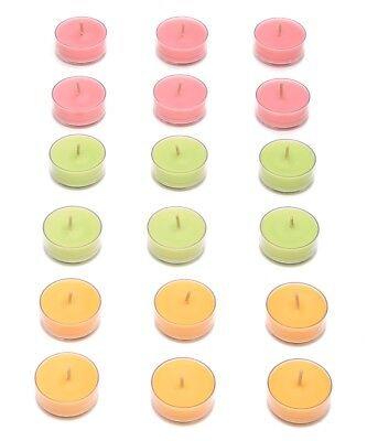 Partylite One (1) Box Of 18 Tealight Candles Just Desserts Pine Mac Tealights