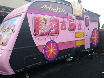 Buisness for sale pamper party trailer + photo booth ideal for party festivals