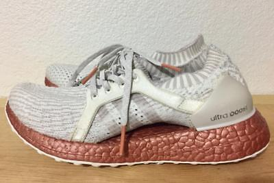 552d40548 adidas Ultra Boost X LTD Sz 6 Crystal White Ice Purple Tech Rust Metallic  BB1973