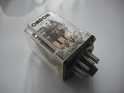 Octal Relay,  OMRON, 11 pin base,  50v AC coil