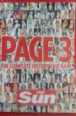 Page 3 Book. Sam/samantha Fox, Maria Whittaker, Gail Mckenna And Many More.